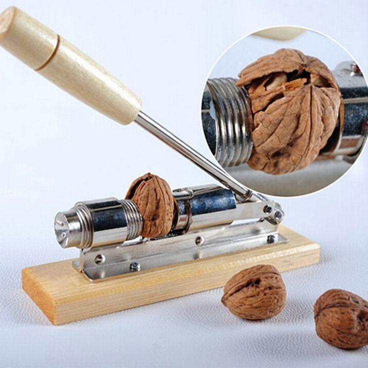 High quality mechanical sheller walnut nutcracker nut cracker fast Opener Kitchen Tools fruits and vegetables