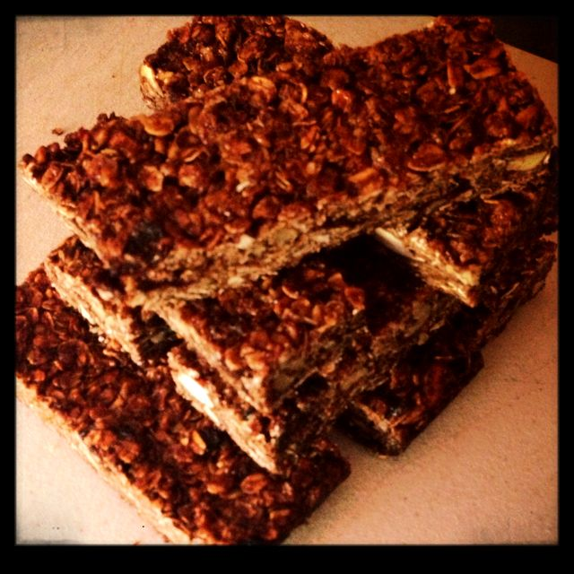 Homemade granola bars - inspired by The Pioneer Woman #reedrumond
