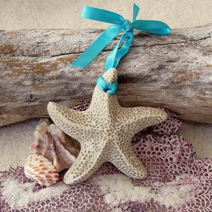STARFISH  BEACH SAND TROPICAL CHRISTMAS ORNAMENT