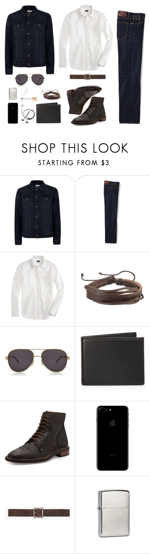 """Take Me to Church"" by bydefault ❤ liked on Polyvore featuring Topman, Lands' End, J.Crew, Zodaca, Chopard, The Men's Store, Cole Haan, Yves Saint Laurent, Zippo and men's fashion"
