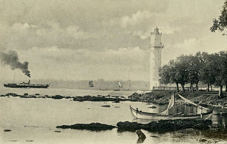 Fanaraki.  Mer de Marmara, siyah-beyaz
