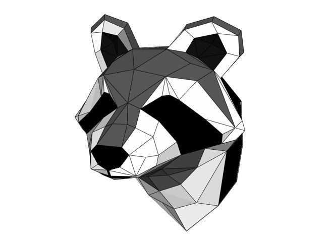 Raccoon Head Wall Hanging Decoration Free Paper Craft Download - http://www.papercraftsquare.com/raccoon-head-wall-hanging-decoration-free-paper-craft-download.html#Decoration, #Head, #Raccoon, #WallHanging