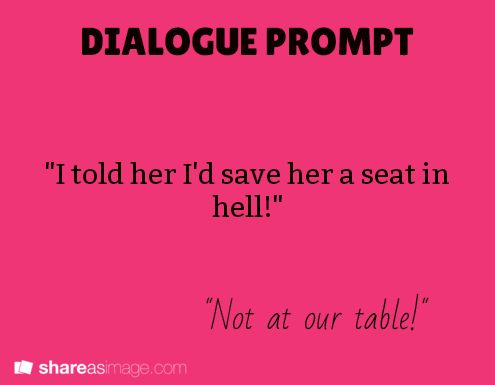 196 best images about Writing Prompts - Dialogue on Pinterest ...