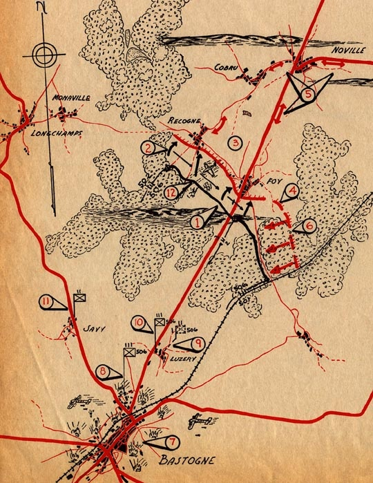 220 best maps of world war two images on pinterest world war two map of bastogne defense ww2 gumiabroncs Image collections