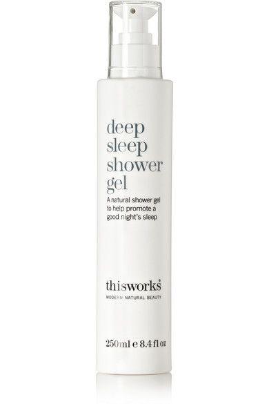 """This Works - Gel douche """"Deep Sleep"""" aux huiles essentielles de vétiver, camomille et lavande pour délasser, et de noix de coco pour nourrir la peau"""