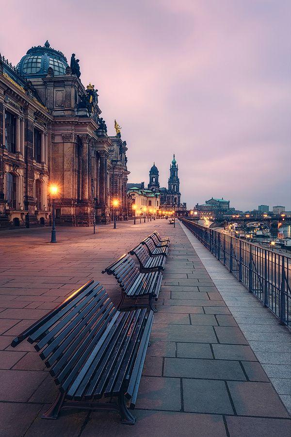 Dresden - Brühlsche Terrasse