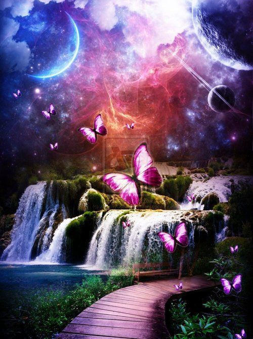 Fantasy Butterflies Purple Www Pixshark Com Images Galleries With A Bite