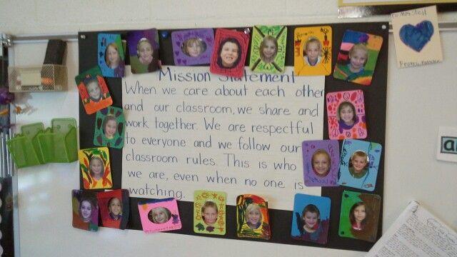 1st grade mission statement