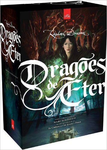 [Amazon] Box Trilogia Dragões de Éter - 3 Volumes - R$39,90+Fretinho