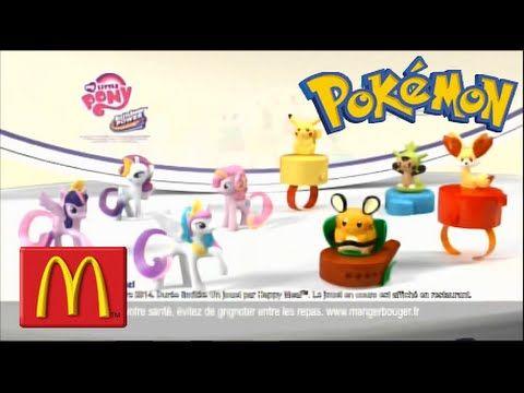 Pokémon ! PUB FR Happy Meal / Mc Donald's [FRench TV Commercial]