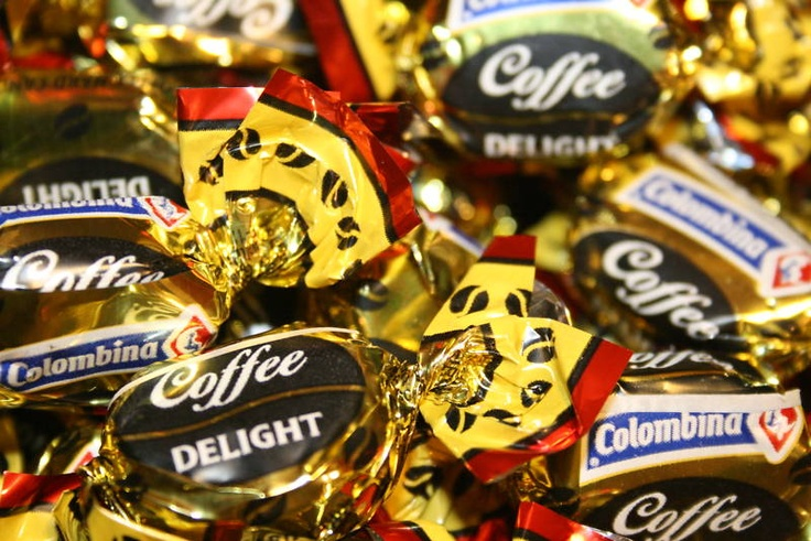 Colombian coffee candy!
