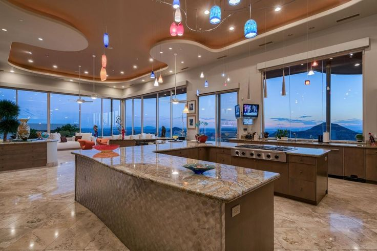 The 25 best billionaire homes ideas on pinterest luxury for Luxury elegant kitchen designs