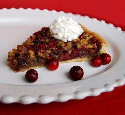 Cranberry Walnut Tart | Winter Baking | Pinterest