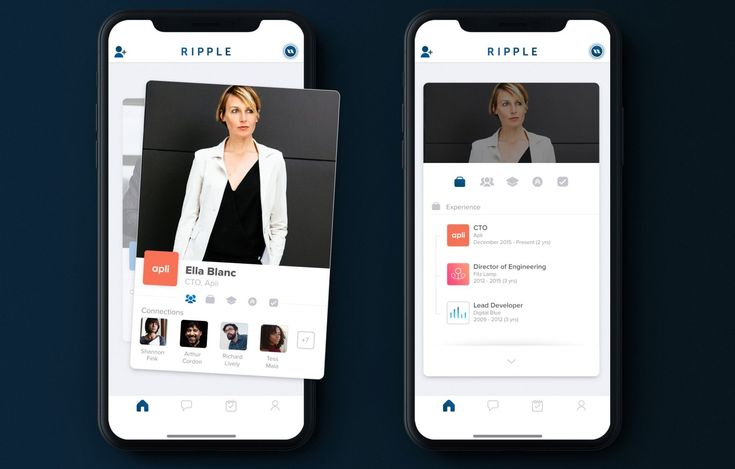 A team of former Tinder employees, led by Tinder's original CTO Ryan Ogle, are today launching a new app aimed at professional networking. The app, called Ripple, aims to be a sort of mobile-first alternative to LinkedIn that addresses some of the problems common to the aging, now Microsoft-owned business networking platform.   #Apps #business networking #mobile #professional networking #Ripple #social #Startups #Tinder
