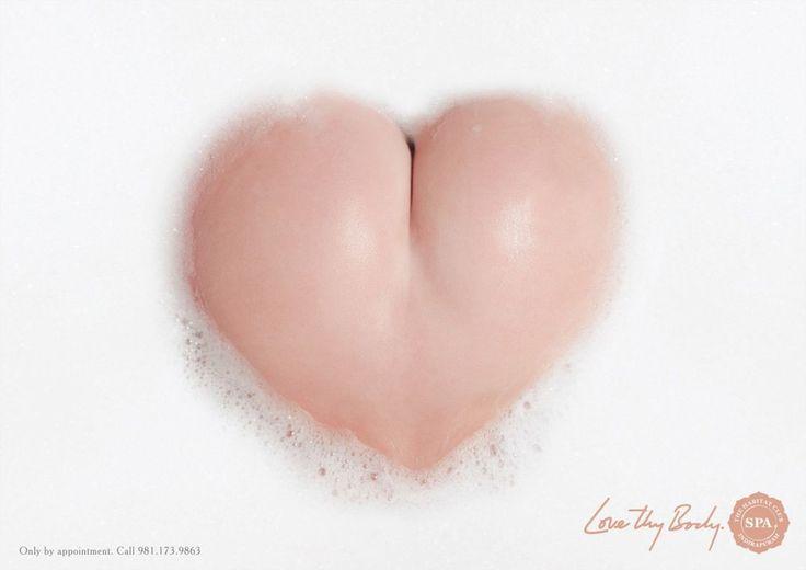 Самая смешная реклама День Святого Валентина_спа-салон Хабитат_ягодицы