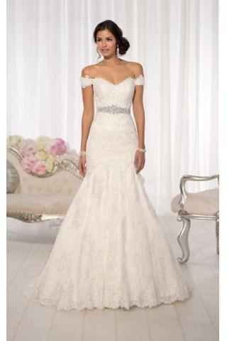 Ruffle wedding dress australia lace