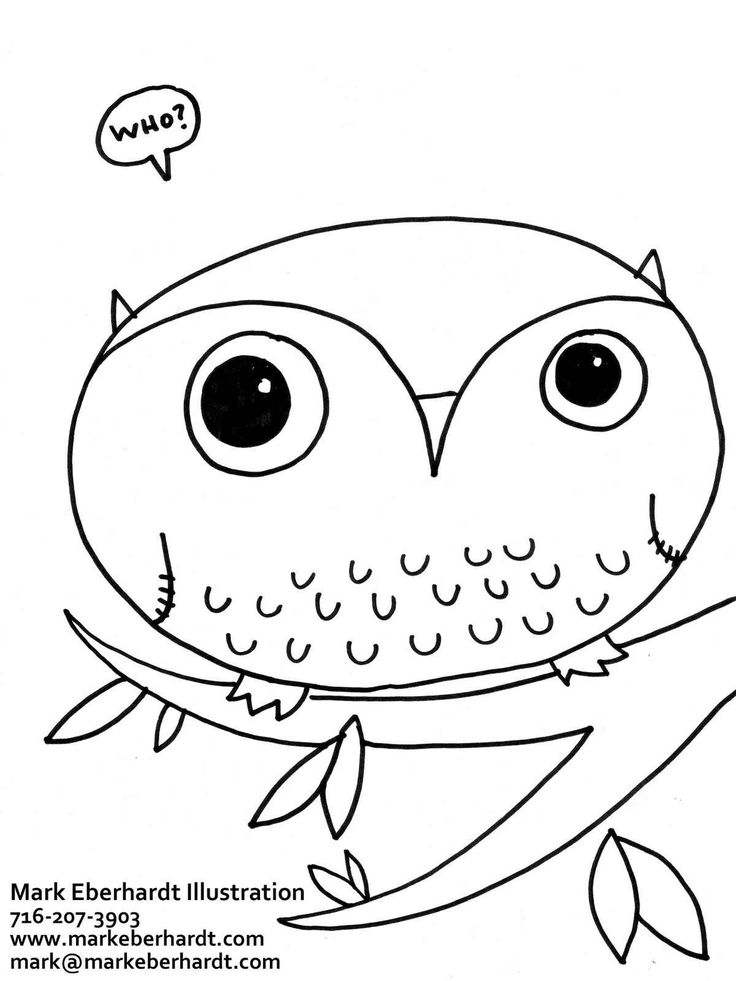coloring pages - Cute Owl Coloring Pages Printable