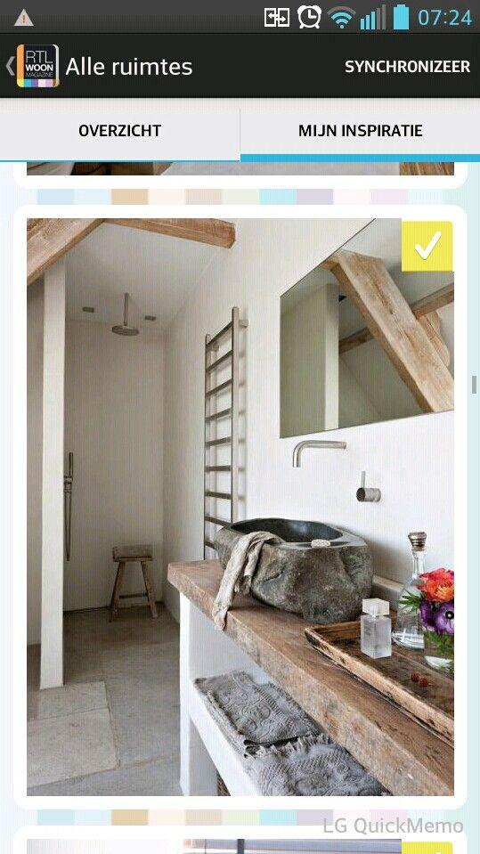 56 best images about badkamer ideeen on pinterest - Deco toilet ideeen ...