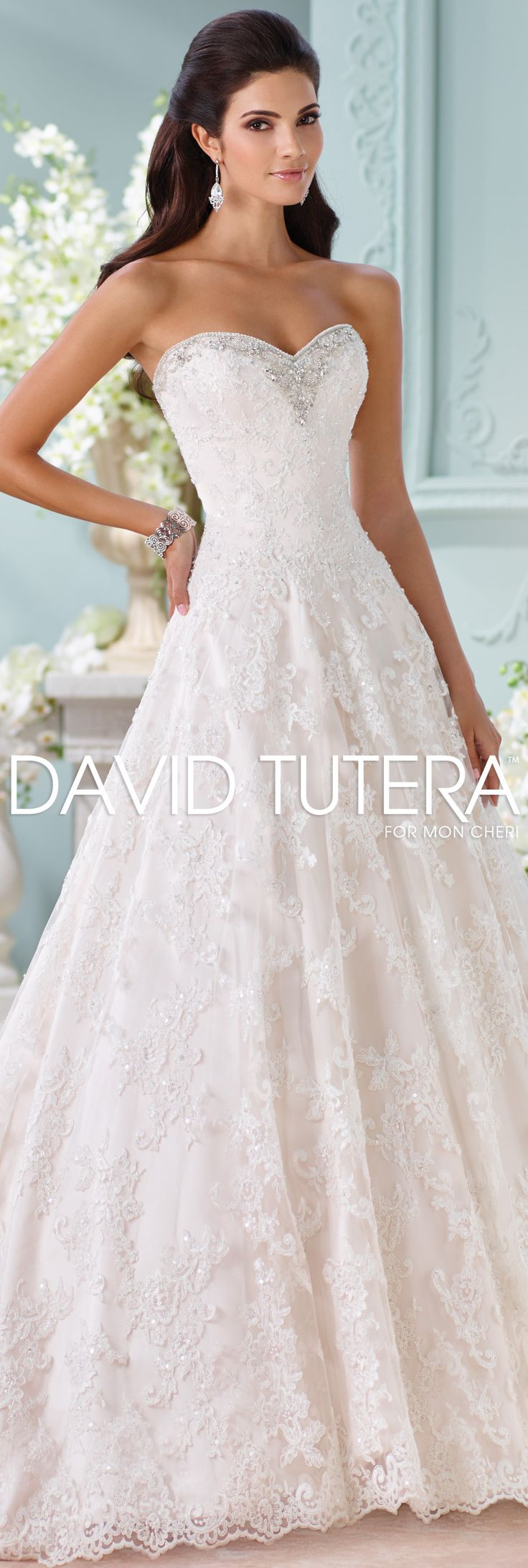 3312 best wedding dresses images on pinterest wedding for David tutera wedding jewelry collection