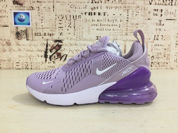 Young Nike Air Max 270 Big Boys Shoe Running Shoes Flyknit