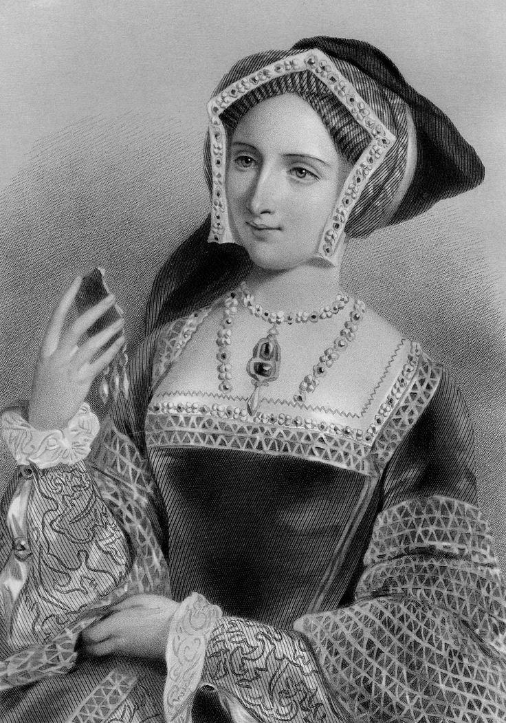 Книга красоты. Портреты английских королев - гравюры викторианской эпохи:Джейн Сеймур - Jane Seymour (1508/1509—1537), третья жена Генриха VIII,иллюстратор Д.Райт