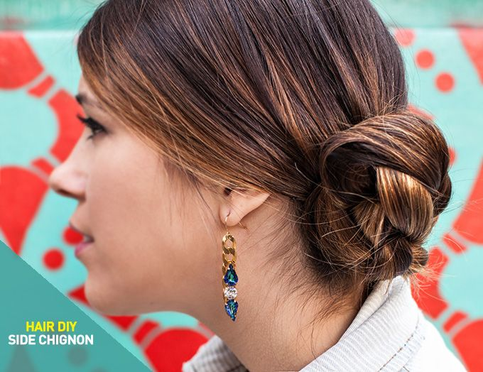 buns hair styles best 25 side chignon ideas on updo to the 3425