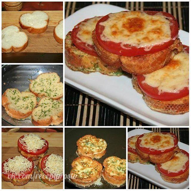 Гренки с помидорами и сыром к завтраку.  Ингредиенты на 1 порцию: - 3 кусочка хлеба, лучше всего от багета - 1 яйцо - 2 столовые ложки молока - половина помидора - 3 столовые ложки тёртого сыра - зелень укропа - соль, перец - растительное масло  Яйцо смешать с молоком, измельченным укропом, посолить, поперчить.  Всю смесь хорошо взбить венчиком или вилкой.  Хлеб нарезать.  Выложить кусочки хлеба в яичную смесь и дать хорошо ей впитаться, а пока поставить на плиту сковороду с растительным…