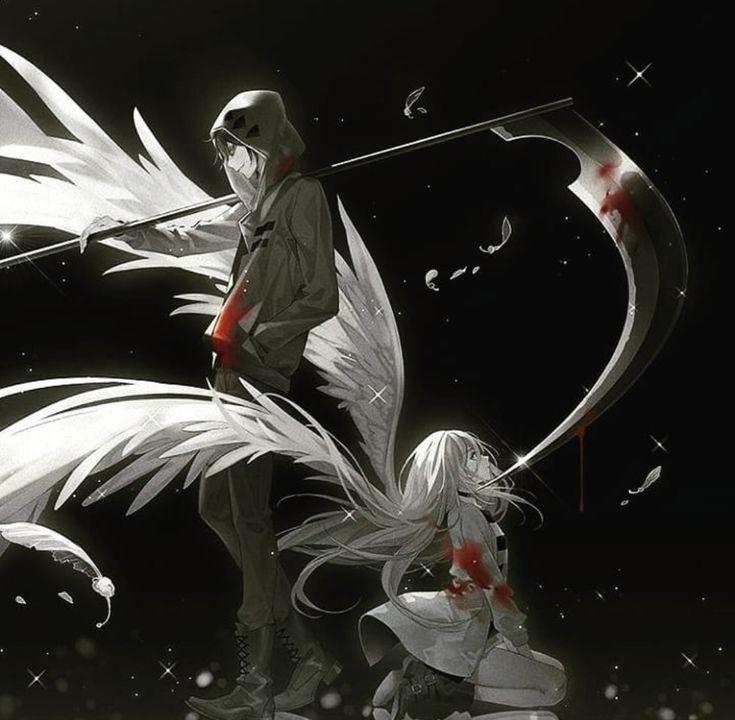 Картинки ангел смерти не аниме