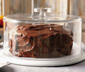 """Super easy chocolate cake (also called """"dump cake"""" - dump all the ingredients in a bowl, stir, and bake)."""