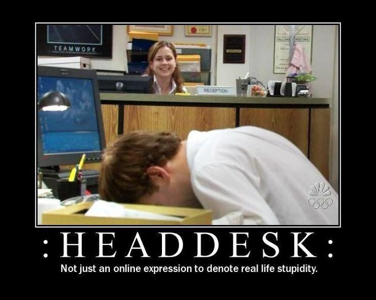 Banging Head On Desk Hostgarcia