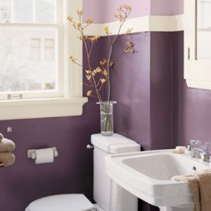 17 best ideas about purple bathroom paint on pinterest purple bathrooms purple bedroom walls. Black Bedroom Furniture Sets. Home Design Ideas