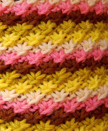 Knitting Stitches Daisy Stitch : 1000+ images about crochet/knitting on Pinterest Blanket patterns, Free pat...
