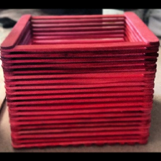 Red Standard Box - Can be purchased at www.facebook.com/MariasDesignerCreations.