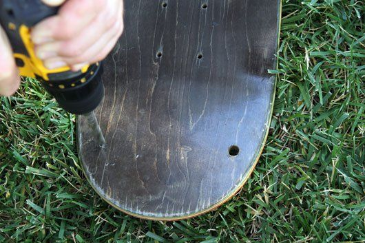 Summer DIY: Make Your Own Skateboard Deck Swing