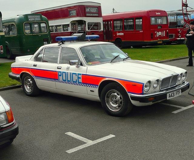 Jaguar Police Car by john lilburne, via Flickr