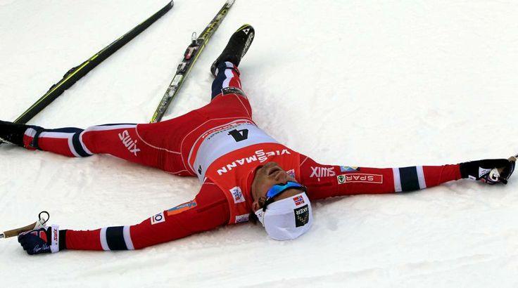 Northug johti norjalaisten näytöstä - Heikkiseltä lupaava hiihto