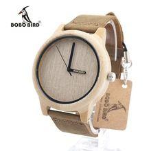 BOBO BIRD A22 Womens Bamboo Wooden Watches Japan Quartz 2035 Quartz Watch Pointer Logo Laser Customized Item Dropshipping(China (Mainland))