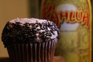 Kahlua Mudslide Cupcakes