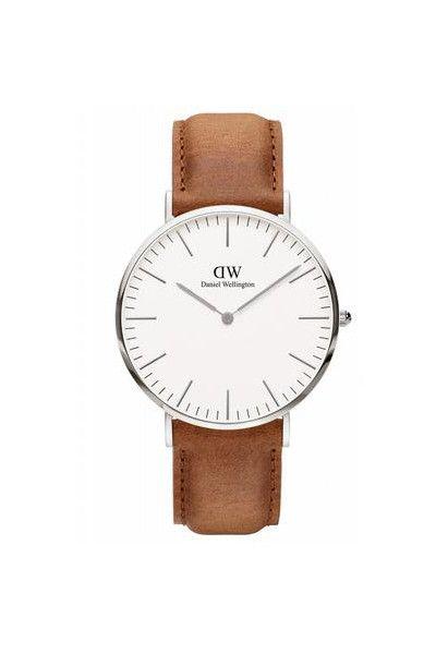 Daniel Wellington Inc. Durham White Silver Watch 40mm