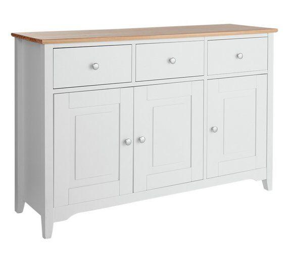 Buy Collection Fairbourne 3 Door Drawer Sideboard