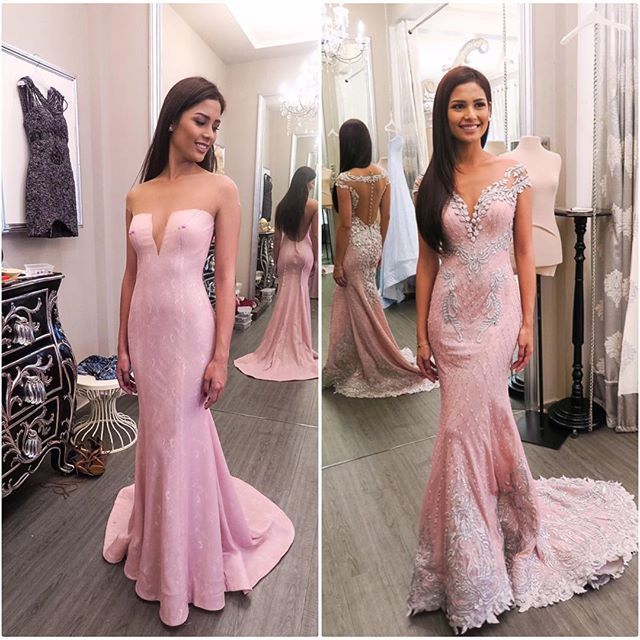 56 best mak tumang images on pinterest ball gown prom for Lace wedding dress instagram