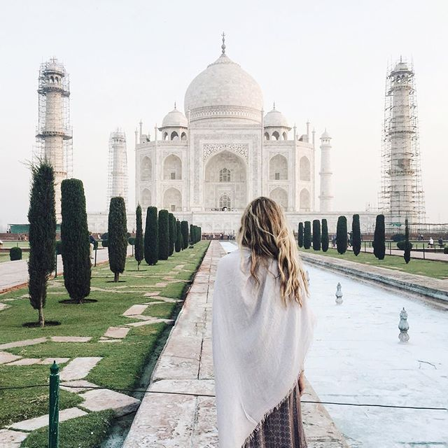 The Taj Mahal, Agra, India - @mrhalpern on Instagram