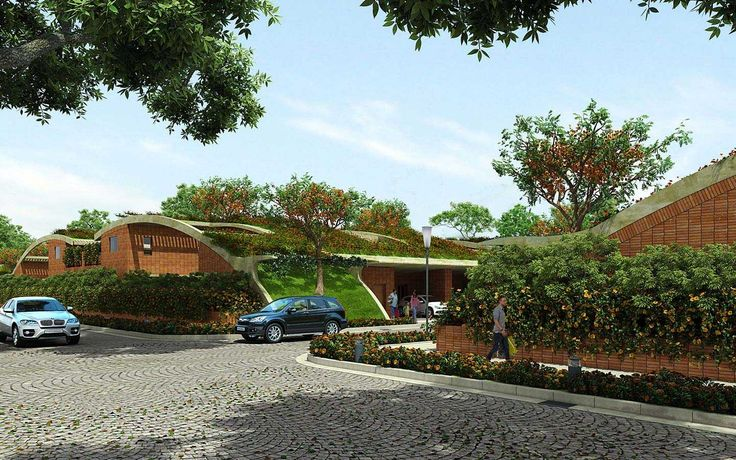Totalenvironment real estate builders project, Meadow dance earth sheltered villas in Rajendranagar, Hyderabad.