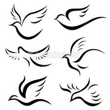 Image result for dove drawing