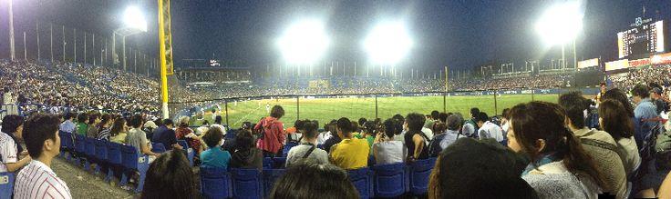Baseball Game - Tokyo, Japan. Click photo to play sound.