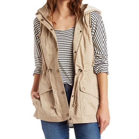 Khaki Vest brand new Brand new Jackets & Coats Vests