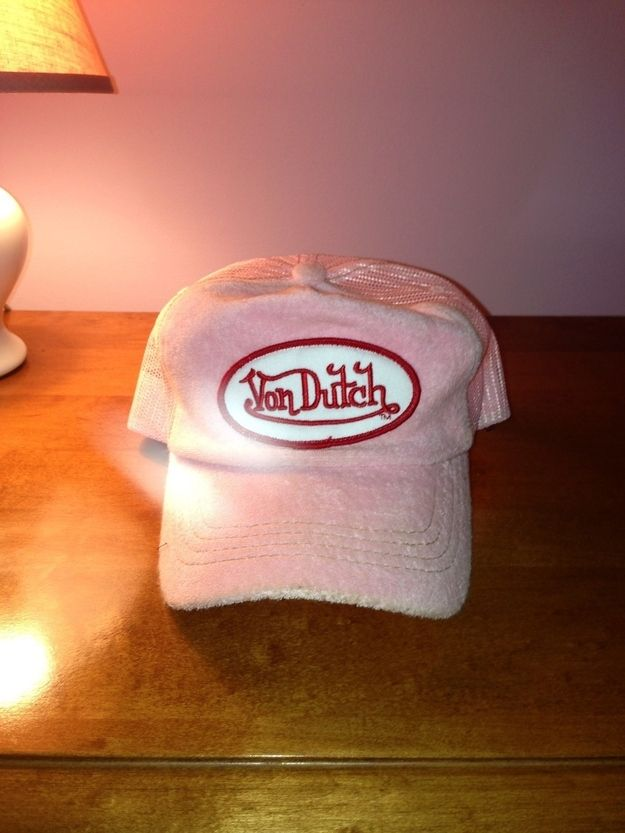 Von Dutch hats. You should be ashamed of yourself. | The 29 Fashions Of The Early 2000s You Wish Never Happened
