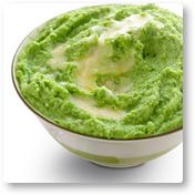 Broccoli Puree with Garlic Brown Butter - Try this flavorful purée as a nice change from mashed cauliflower or steamed broccoli. *Induction Friendly* - 4g net carbs per serving
