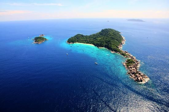 Similan Islands National Park: Aerial Shot - Thailand