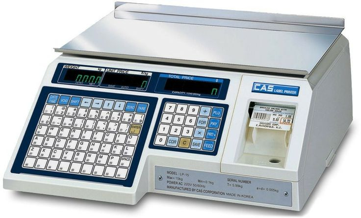 Buy LP1 Scales CAS lp1 15kg scale no pole only from Quickpos | AU
